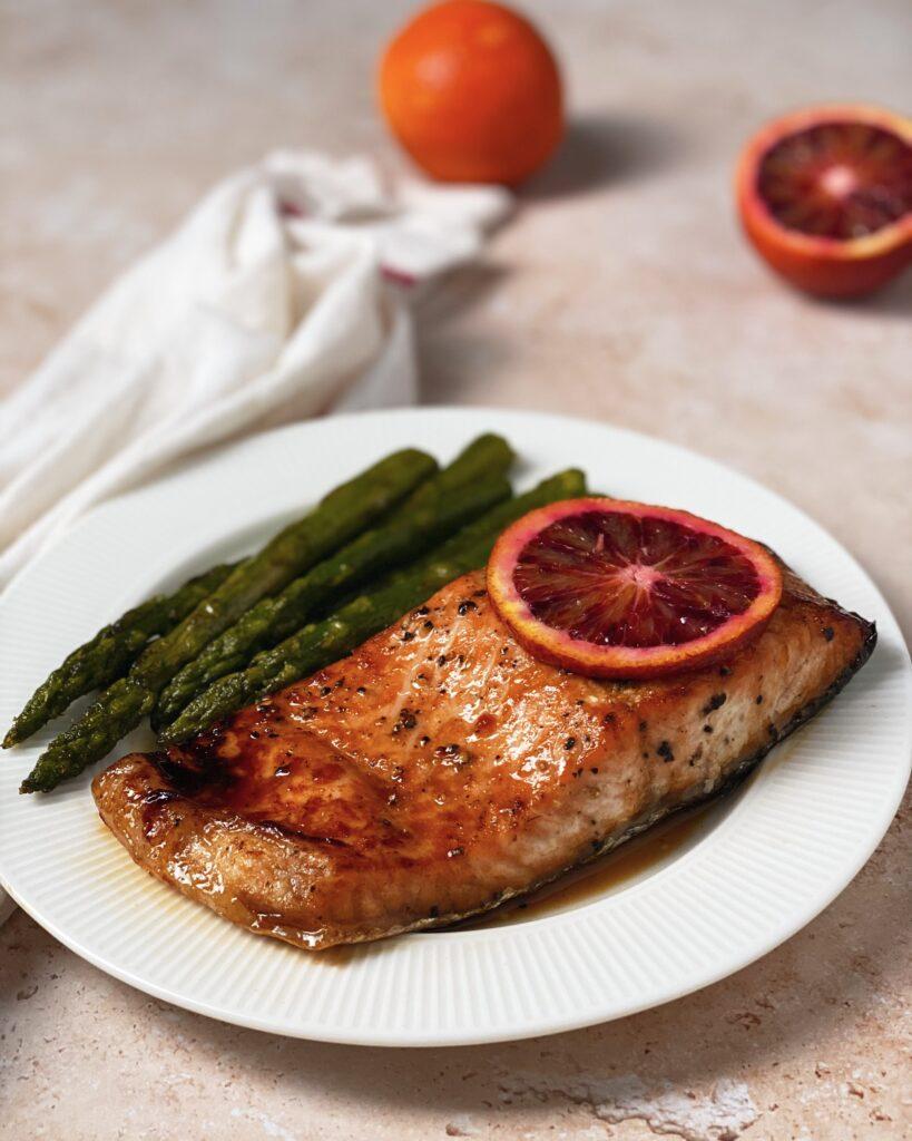 Blood Orange Salmon