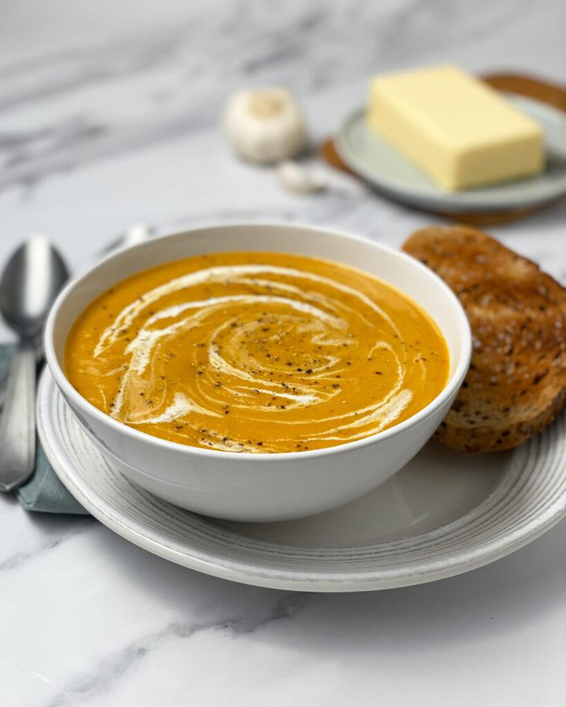 Supă Cremă de Morcovi, Praz și Cartofi